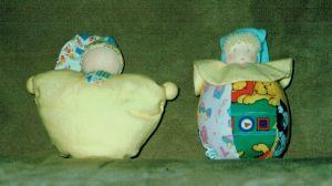 Duikelaar En Babyknuffel